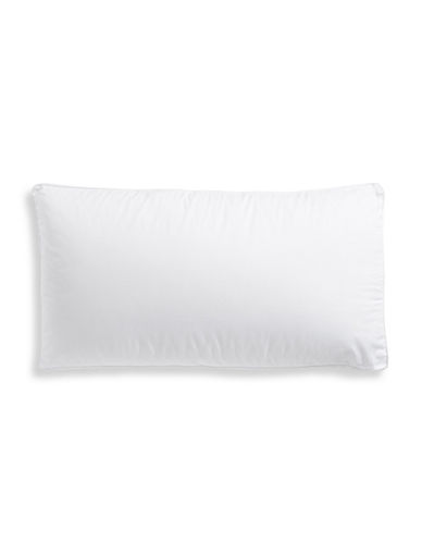 Sealy Posture Fit 300 Thread-Count Side Sleeper Pillow-WHITE-King