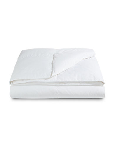 Sealy White Duck Down Duvet-WHITE-Twin