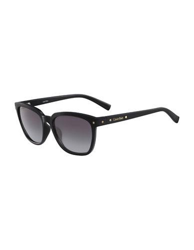 Calvin Klein White Label Square 55 mm Sunglasses-BLACK-One Size