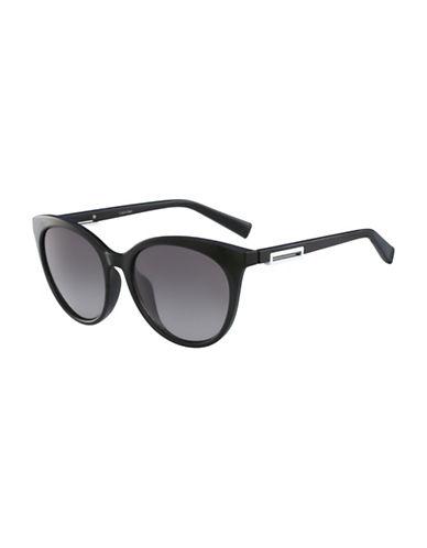 Calvin Klein White Label Square 53 mm Sunglasses-BLACK-One Size