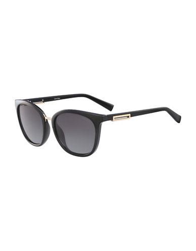 Calvin Klein White Label Square 53 mm Sunglasses-BLACK-One Size 88904813_BLACK_One Size