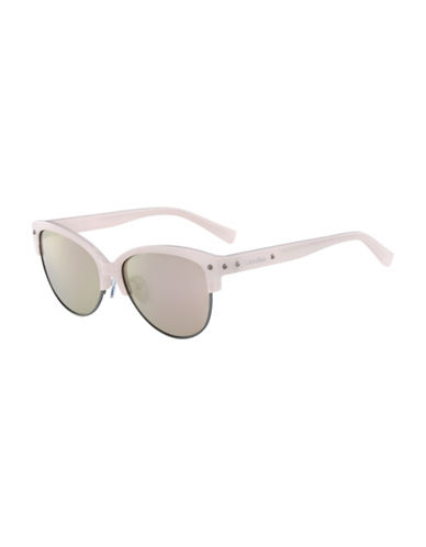 Calvin Klein White Label Square 54 mm Sunglasses-PINK-One Size