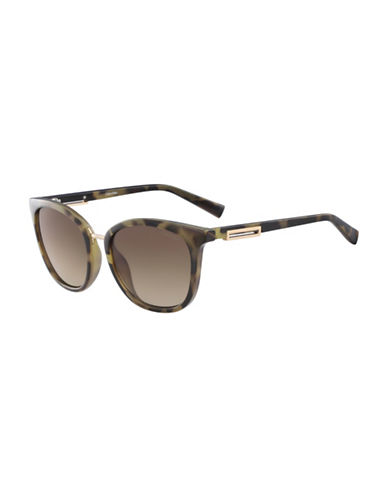 Calvin Klein White Label Square 53 mm Sunglasses-TORTOISE-One Size