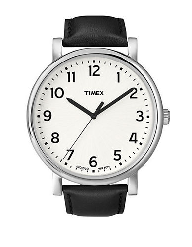 Timex Mens Grande Classics Watch-BLACK-One Size