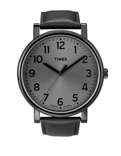 Timex Modern Original Oversize  Grande Classic Watch-BLACK-One Size