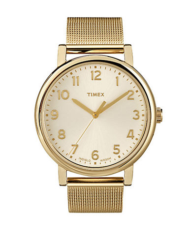 Timex Grande Classics Watch-GOLD-One Size