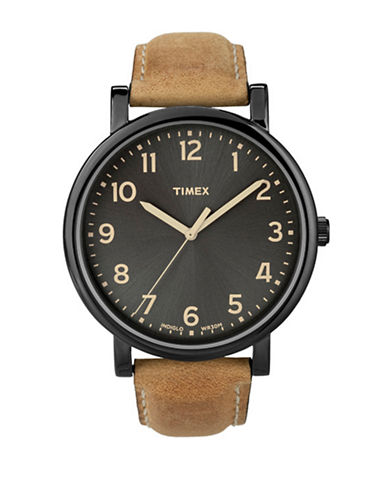 Timex Modern Original Oversized Grande Classic Watch-TAN-One Size