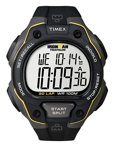 Timex Ironman 50 Lap-YELLOW-One Size