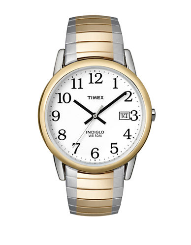 Timex Mens Classics Watch-TWO TONE-One Size