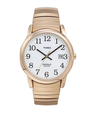 Timex Mens Classics Watch-GOLD-One Size