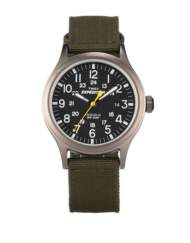 Timex Expedition Scout Metal Watch-GREY-One Size