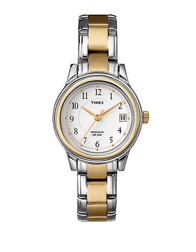 Timex Womens Dress Watch-TWO TONE-One Size