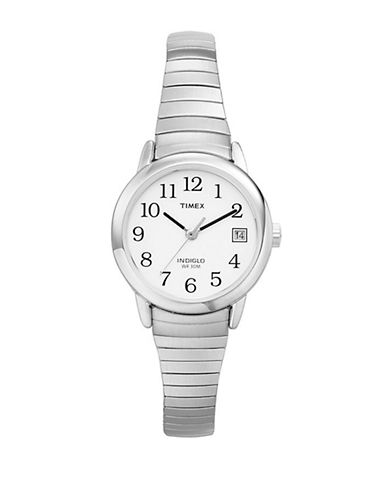 Timex Mens Classics Watch-SILVER-One Size