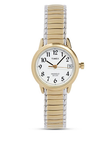 Timex Two-Tone Stainless Steel Dress Watch-TWO TONE-One Size