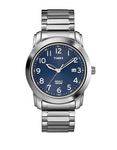 Timex Mens Dress Watch-BLUE-One Size