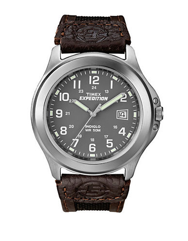 Timex Expedition Metal Field Watch-BROWN-One Size