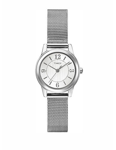 Timex Womens Dress Standard T2P457Ng-SILVER-One Size