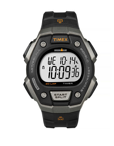 Timex Mens Digital Classic 30 Watch-BLACK-One Size