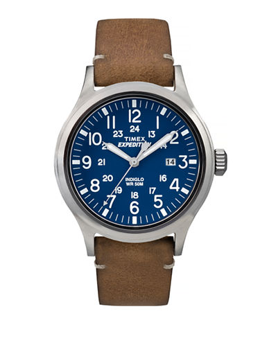 Timex Expedition Scout Analog Watch-BROWN-One Size