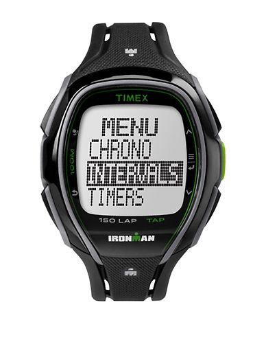 Timex Ironman Sleek 150 Digital Strap Watch-BLACK-One Size