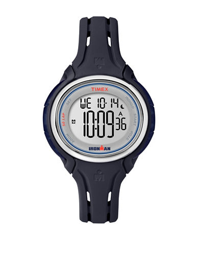 Timex Ironman Sleek 50 Digital Strap Watch-BLUE-One Size