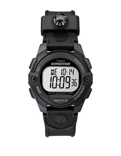 Timex TW4B07700NG Digital Strap Watch-BLACK-One Size