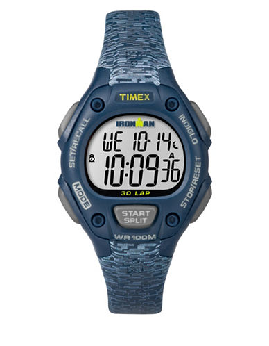 Timex Ironman Classic 30 Digital Watch-BLUE-One Size