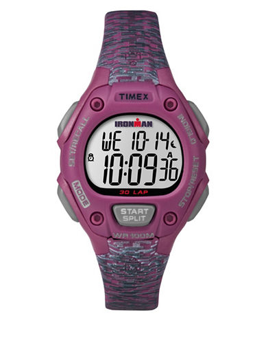 Timex Ironman Classic 30 Digital Watch-PINK-One Size