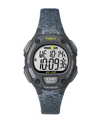Timex Ironman Classic 30 Digital Watch-BLACK-One Size