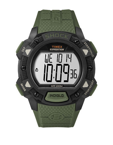 Timex TW4B09300NG Digital Strap Watch-GREEN-One Size
