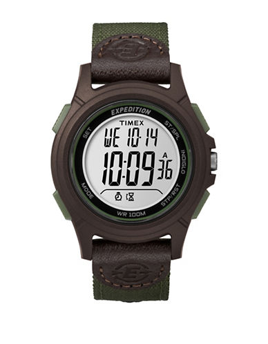 Timex TW4B10000NG Digital Strap Watch-GREEN-One Size