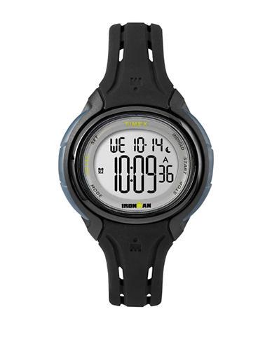 Timex Ironman Digital Strap Watch-BLACK-One Size
