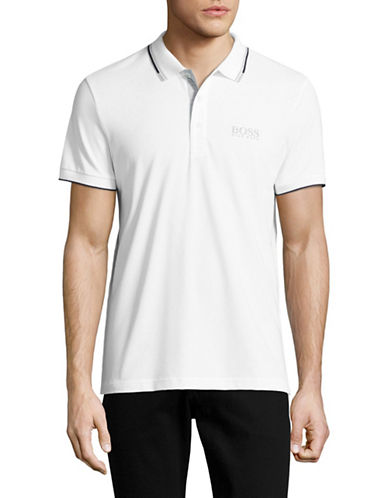 Boss Green Pro Edition Moisture-Wick Polo-WHITE-X-Large 88952691_WHITE_X-Large