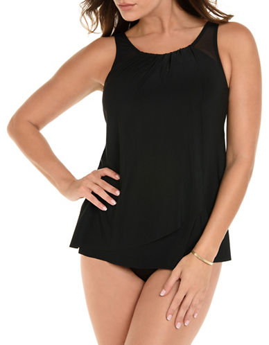 Miraclesuit Pleated Tankini Top 90038865