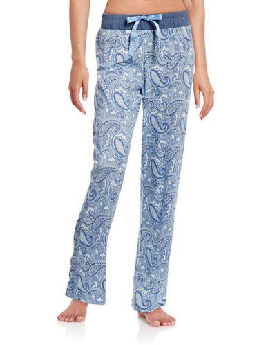 Nautica Paisley Pyjama Pants-BLUE-Large 88438991_BLUE_Large