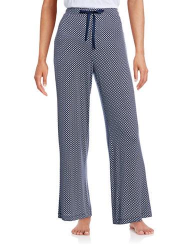 Nautica Printed Pyjama Pants-BLUE-Medium 88495713_BLUE_Medium