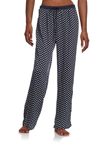 Nautica Knit-Woven Maritime Pyjama Pants-BLUE-X-Large 88495735_BLUE_X-Large