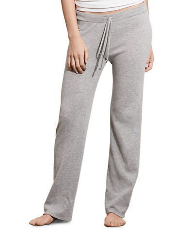 Lauren Ralph Lauren So Soft Relaxed Pants-GREY-X-Large 88512319_GREY_X-Large