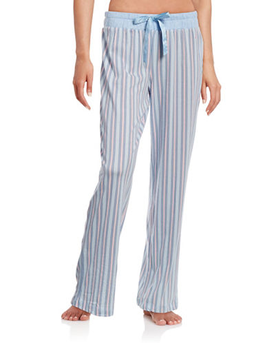 Nautica Mixed Stripe Pyjama Pants-BLUE-Small 88438997_BLUE_Small