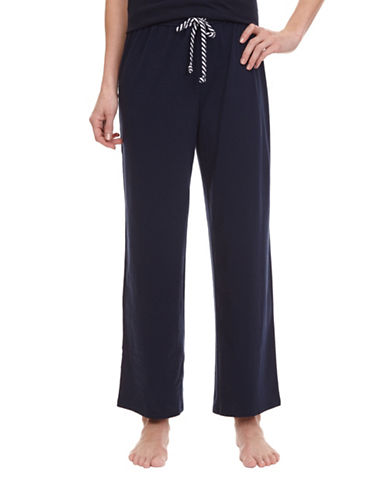 Nautica Solid Ankle Anchor Pants-MARITIME NAVY-Small