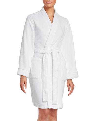 Lauren Ralph Lauren Short Kimono Robe-WHITE-Large 88590531_WHITE_Large