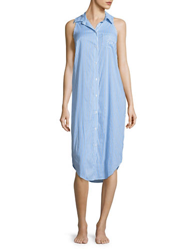 Lauren Ralph Lauren His Shirt Sleepshirt-BLUE-Small 89201912_BLUE_Small