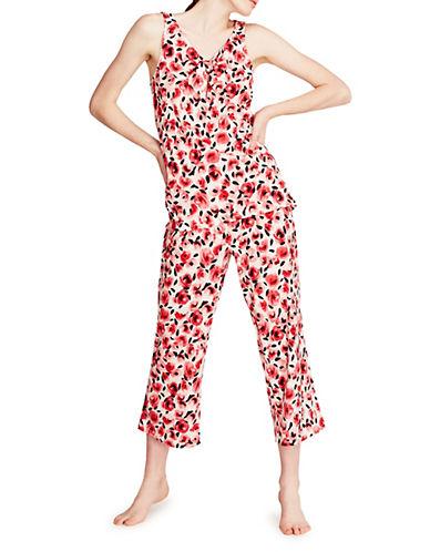 Kate Spade New York Rose Bud Two-Piece Pyjamas-PINK-Medium