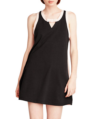 Kate Spade New York French Terry Chemise-BLACK-Large 89087564_BLACK_Large