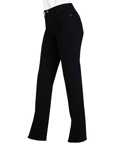 Nydj Rivet Basic Slim Leg-BLACK-10