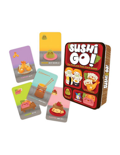 Kroeger Sushi Go Pick-and-Pass Card Game-MULTI-One Size