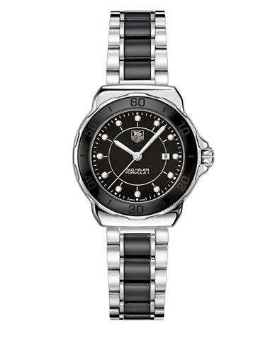 Tag Heuer Analog Formula 1 WAH1314.BA0867 Steel Watch-BLACK-One Size