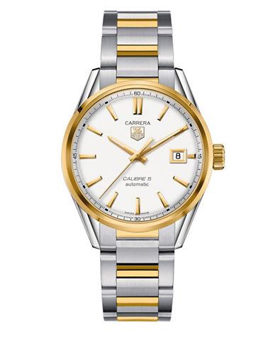 Tag Heuer Carrera Two-Tone Steel Bracelet Watch-SILVER-One Size