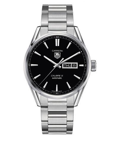 Tag Heuer WAR201A.BA0723 Carrera Steel Bracelet Watch-SILVER-One Size