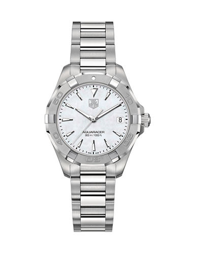 Tag Heuer Ladies Aquaracer Bracelet Watch WAY1312BA091-SILVER-One Size